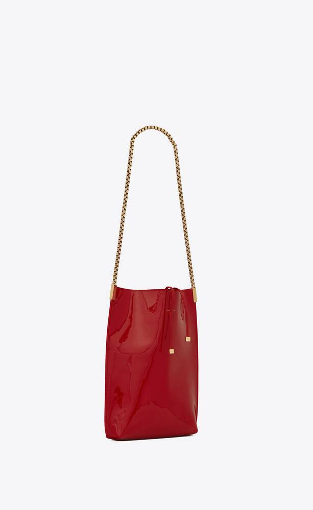 suzanne small hobo bag in patent leather
