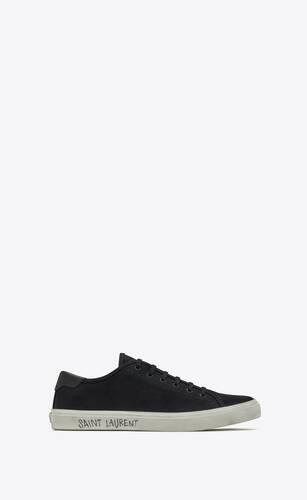 malibu sneakers en cuir et toile
