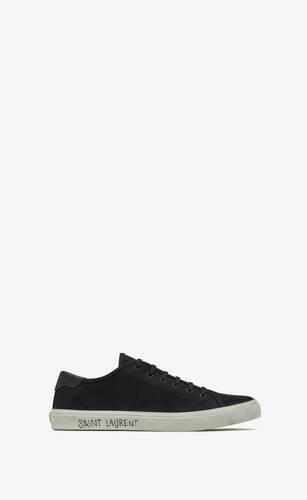 sneakers malibu in tela e pelle