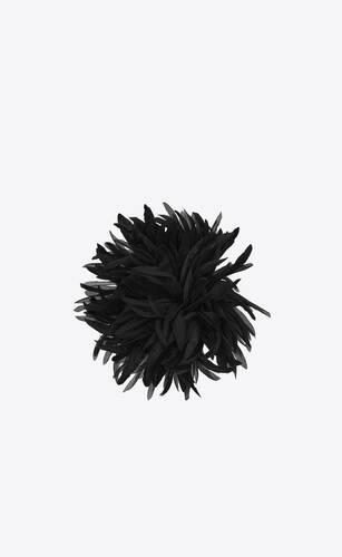 broche dahlia en soie