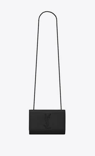 kate small bag in grain de poudre embossed leather