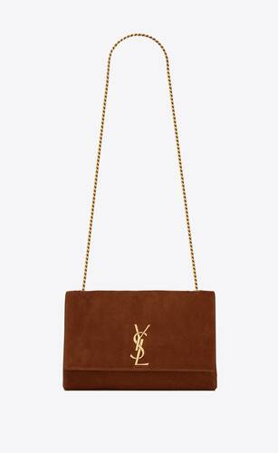 kate medium reversible bag in suede and leather