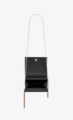 kate box bag in grain de poudre embossed leather