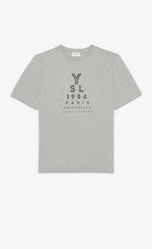 """""""ysl 1984"""" t-shirt"""