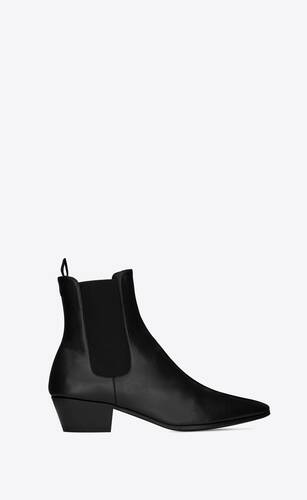 vassili chelsea booties in smooth leather