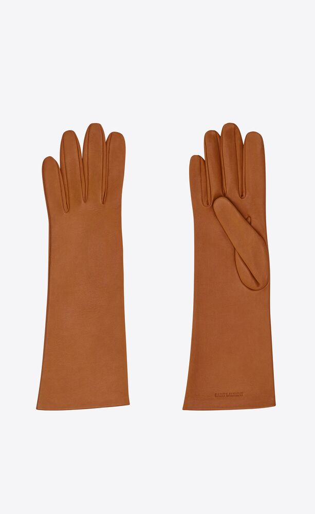gloves in smooth leather