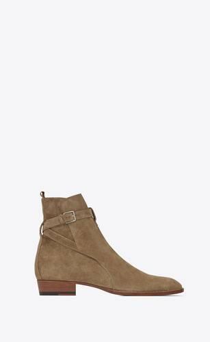 wyatt jodhpur boots in suede