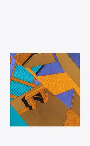 ettore sottsass silk pocket square