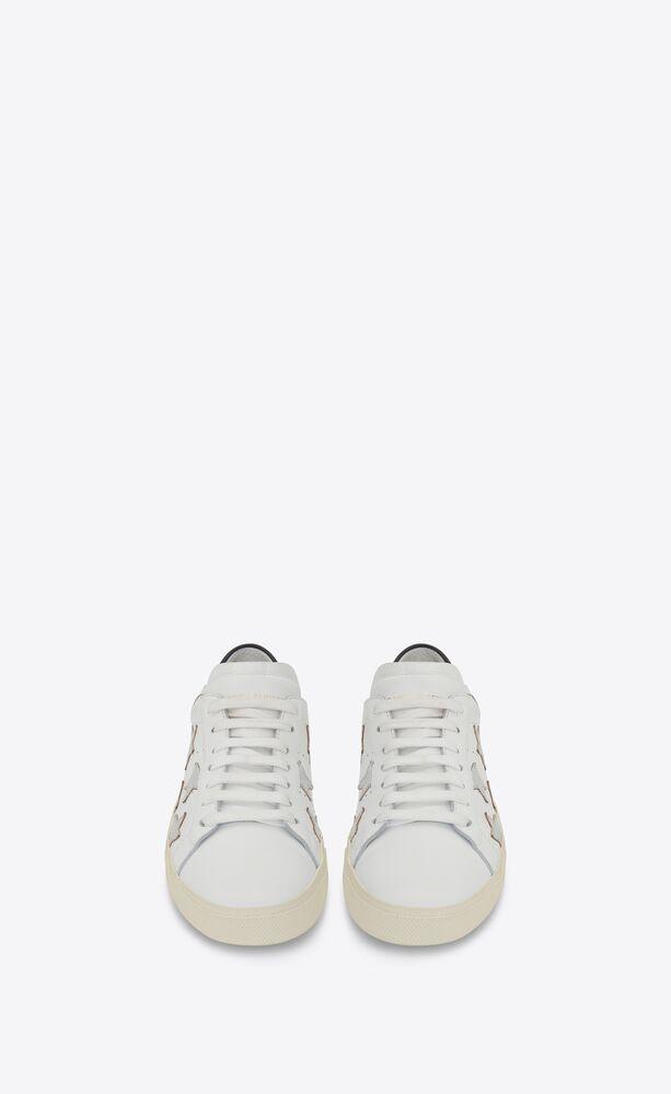 sneakers court classicsl/06 metallic california de piel