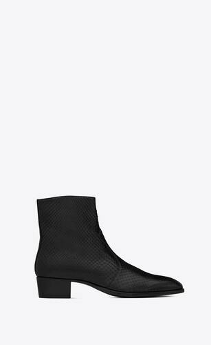wyatt zipped boots in python