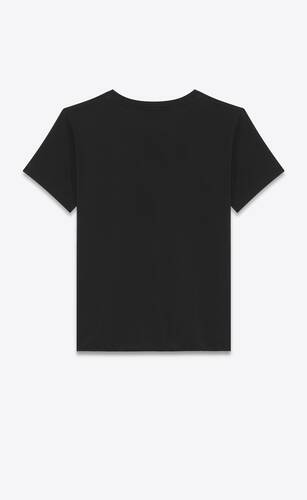 saint laurent signature t-shirt