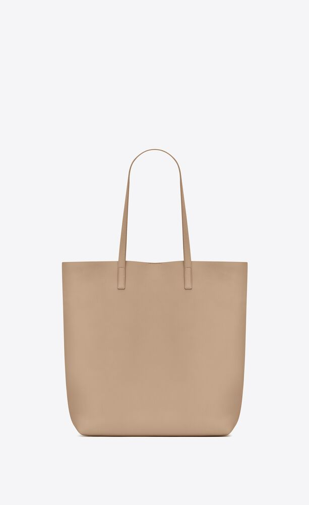 bolso shopper saint laurent north/south de piel flexible