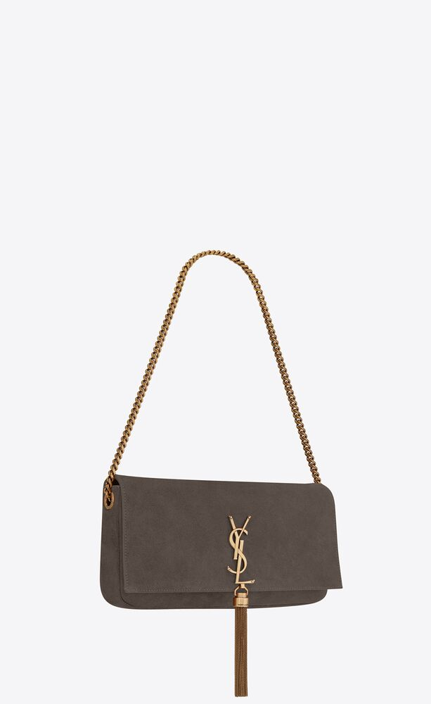 kate 99 with tassel in suede and smooth leather
