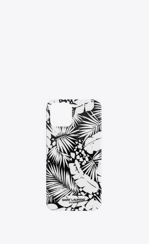 iphone 12 pro case in tropical printed silicone