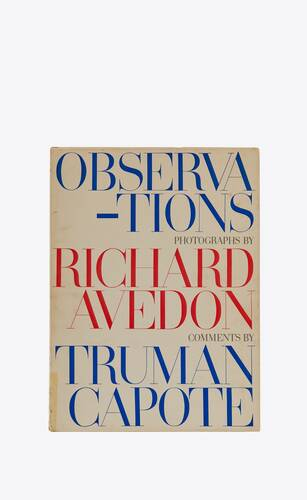 richard avedon observations
