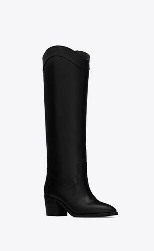 kate boots in smooth leather