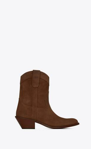 eastwood santiag boots in suede