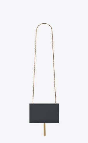 kate small with tassel in grain de poudre embossed leather