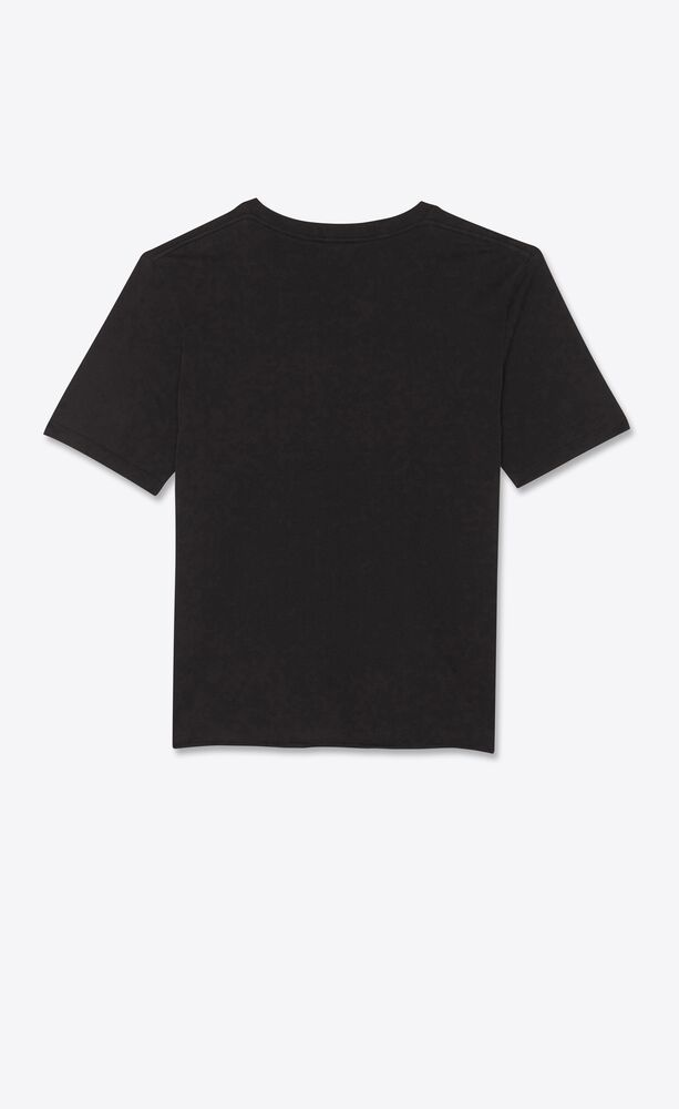 """t-shirt imprimé """"saint laurent mickey mouse"""""""