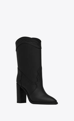 kate booties in smooth leather