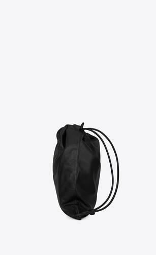teddy backpack in lambskin