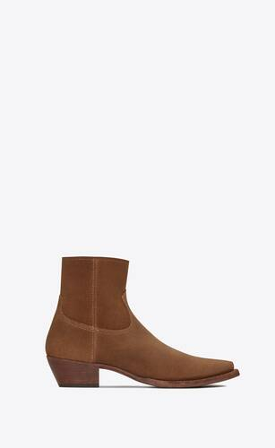 lukas boots in suede