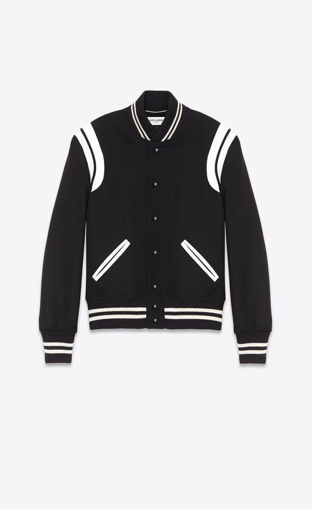 teddy jacket in wool