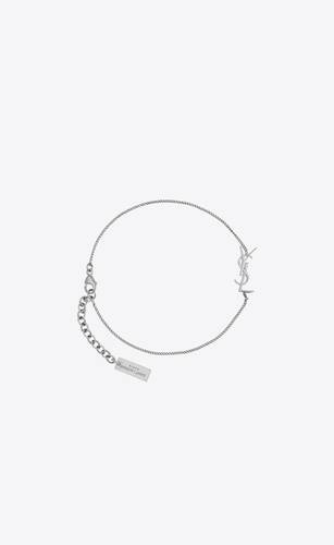 charm bracelet in silver brass