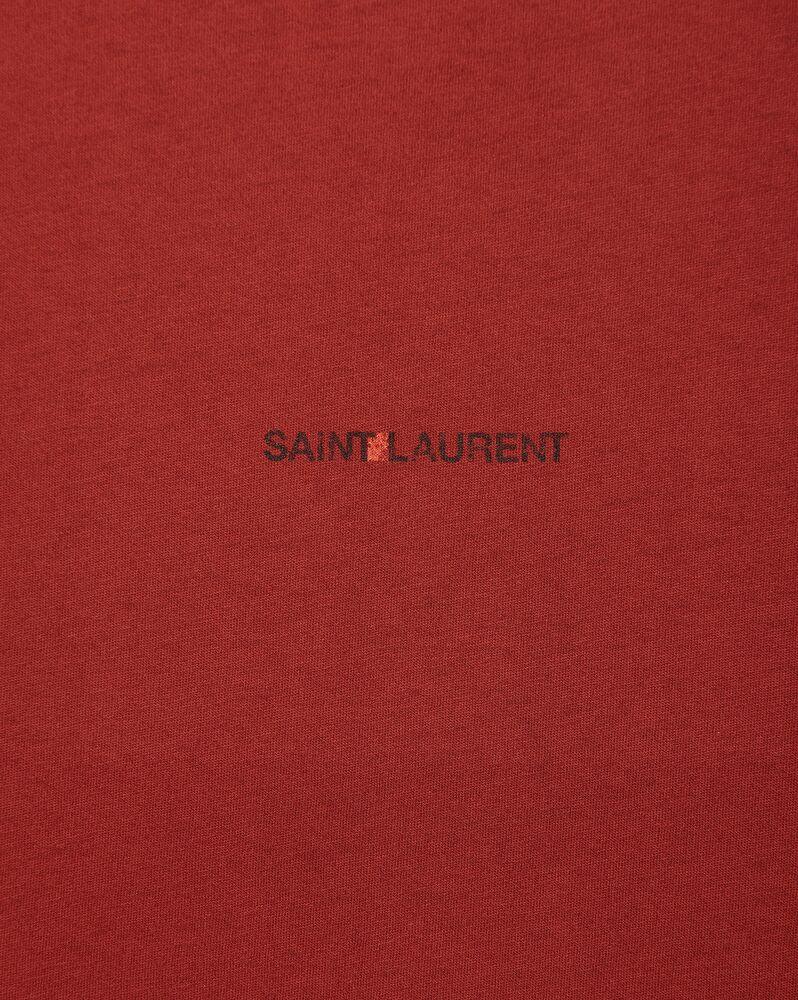 saint laurent logo t-shirt