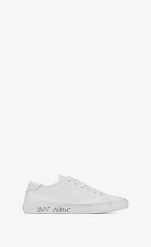 malibu sneaker aus glattleder