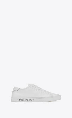 sneakers malibú de piel lisa