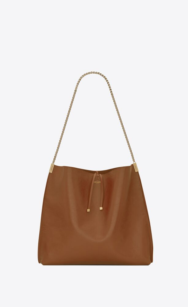 suzanne hobo medium en cuir lisse