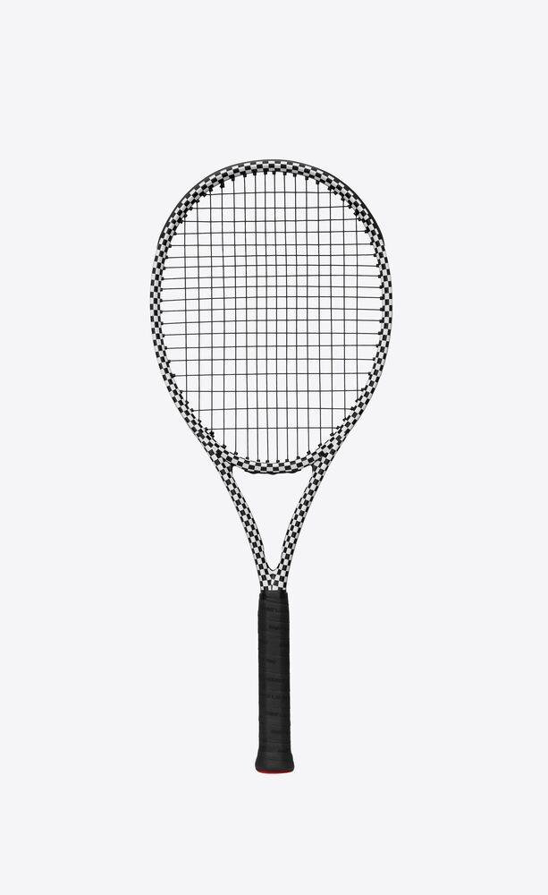 wilson checkered tennis racket