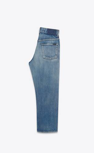 jean cropped droit sandy winter blue