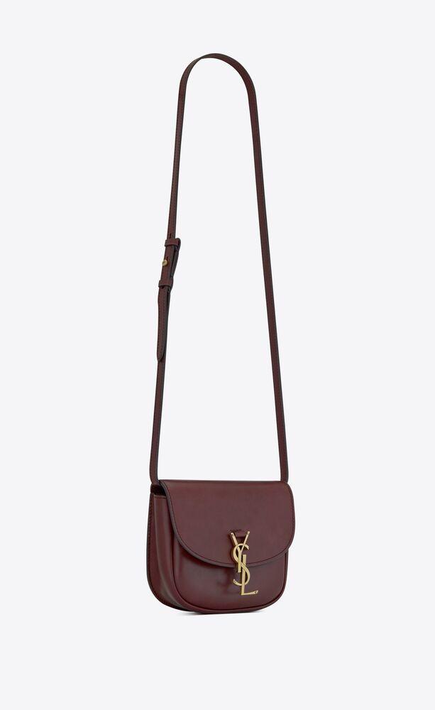 kaia small satchel en cuir lisse