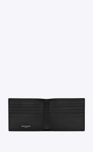 monogram east/west wallet in crocodile-embossed nubuck