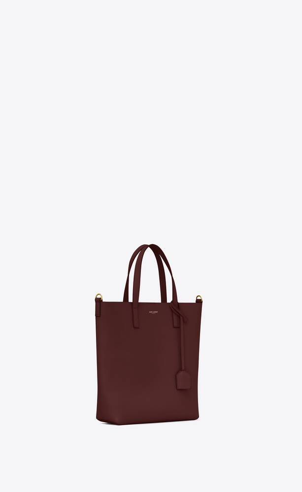 toy shopping bag in leather