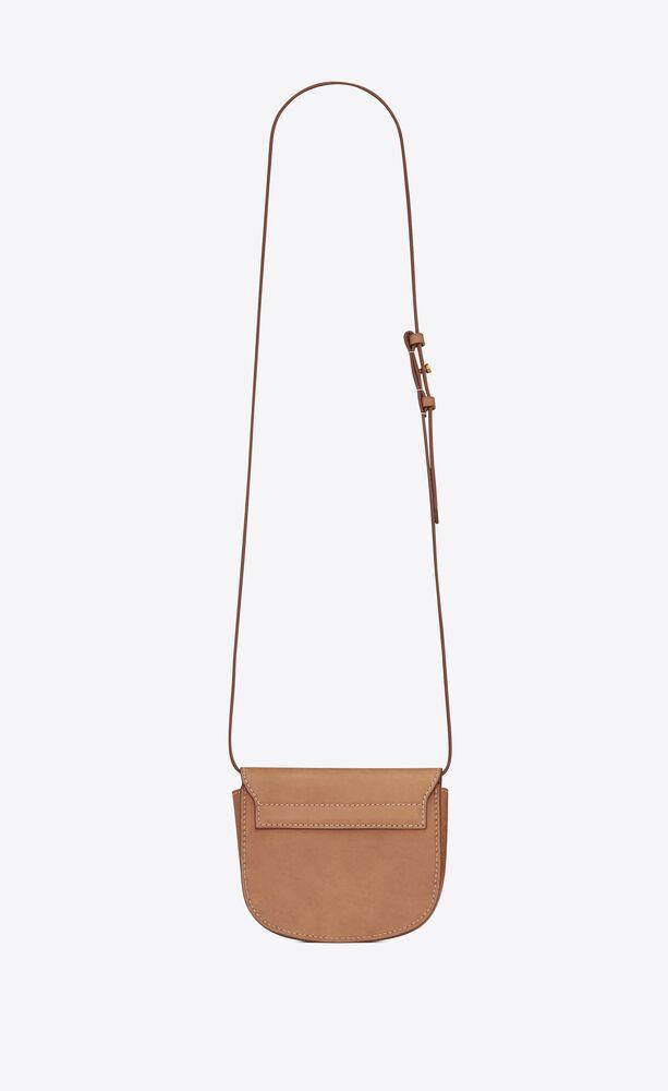 kaia mini satchel en cuir lisse vintage