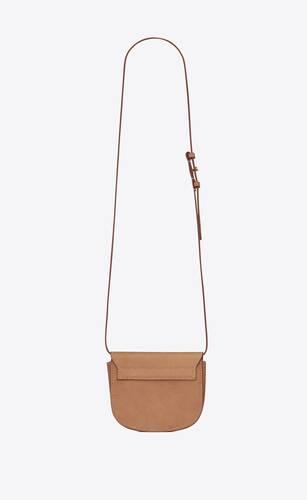 kaia mini satchel in smooth vintage leather