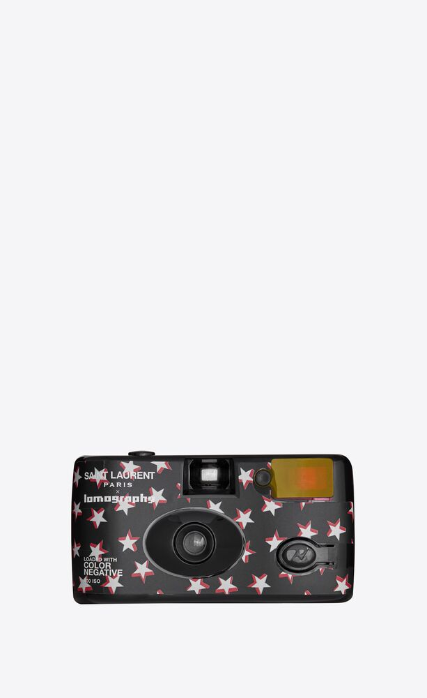 lomography star-patterned single-use camera