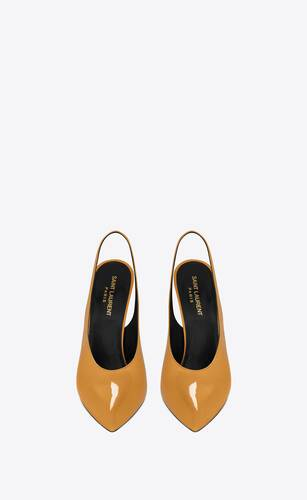venus slingback pumps in patent leather