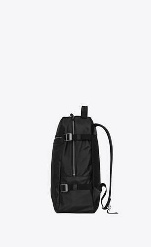city trekking backpack in lambskin and nylon