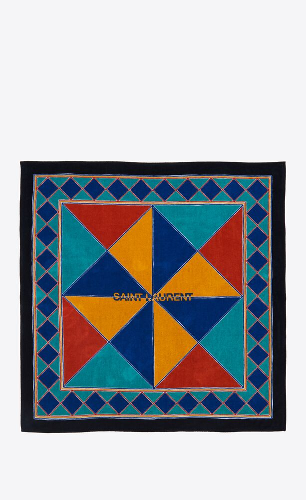 marrakesh mosaic towel