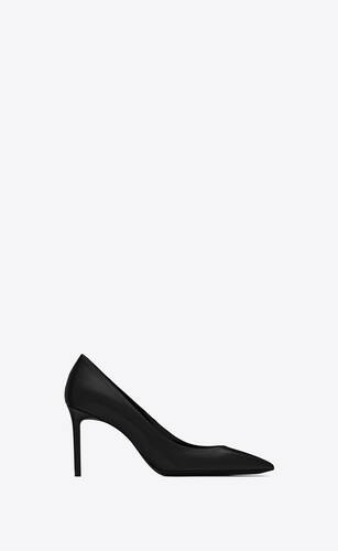 anja escarpin pump in smooth leather