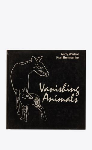 "warhol /benirschke  ""vanishing animals"""
