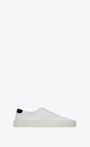 sneakers venice de lona y piel