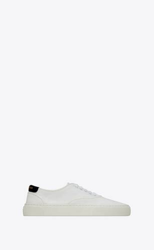 venice sneakers en toile et cuir