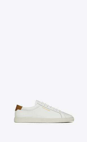 andy sneakers in smooth leather