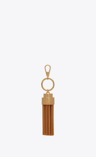tassel keychain in metal