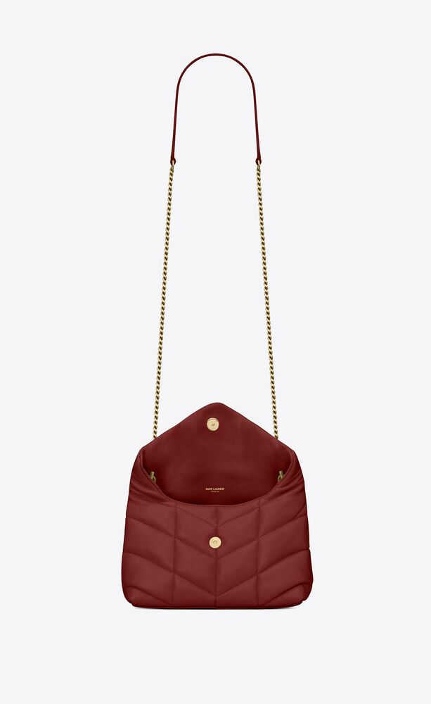 loulou puffer toy bag in quilted lambskin